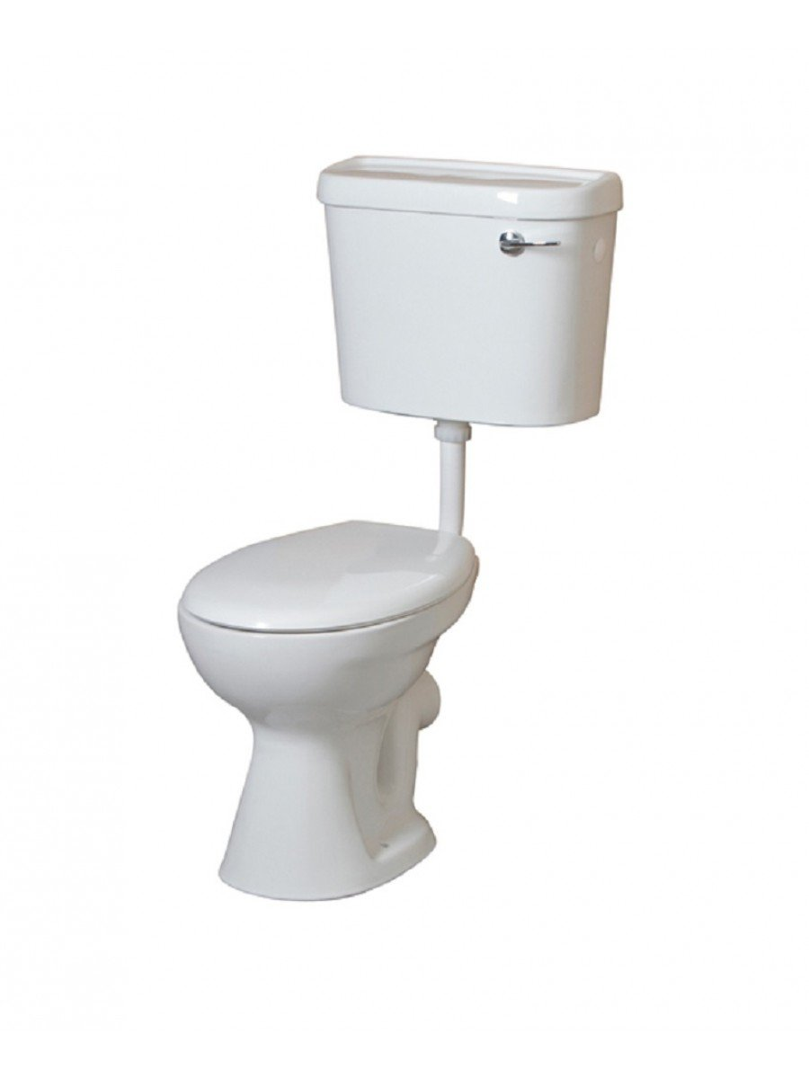 Low Level WC - Lever Flush Cistern