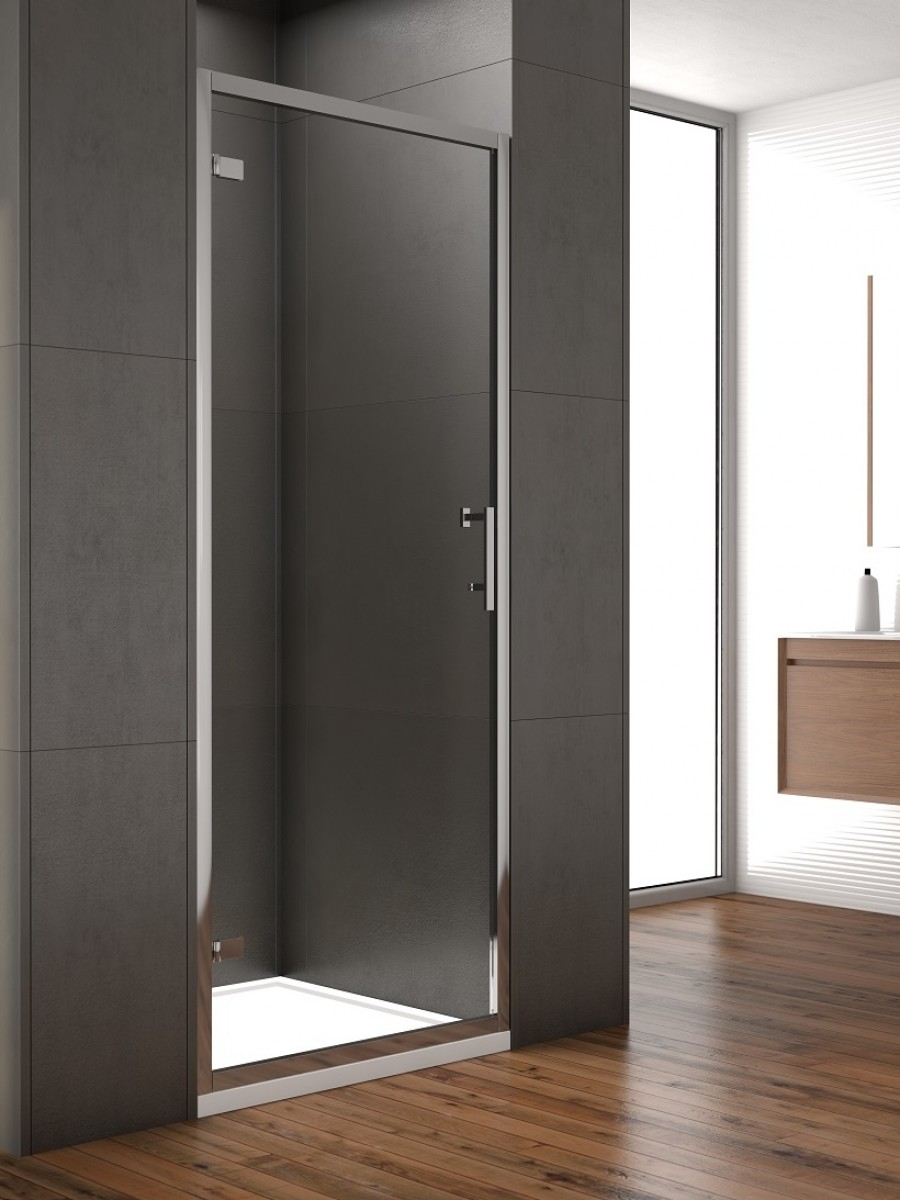 Style 800mm Hinged Shower Door Adjustment 750 790mm