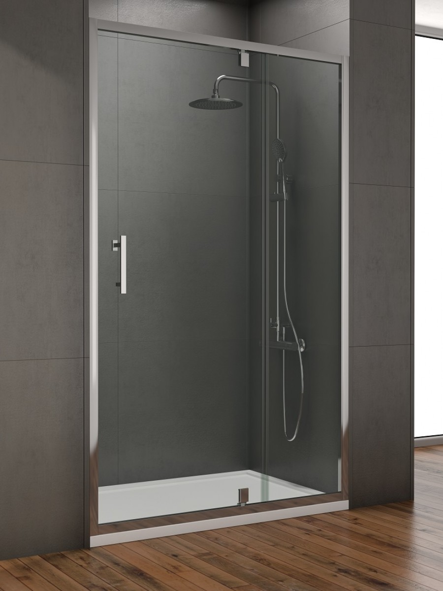 Style 1200mm Inline Pivot Shower Door Adjustment 1150 1190mm