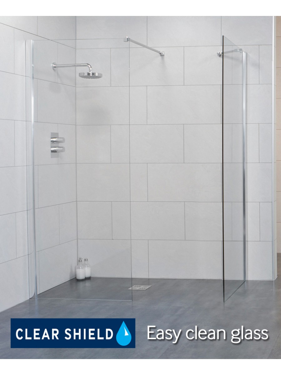 Urban 800 Wetroom Panel - Adjustment 775-800mm