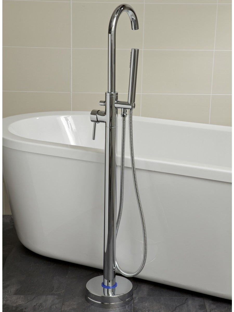 Harrow Freestanding Bath Shower Mixer - Free Standing Bath Taps - Taps