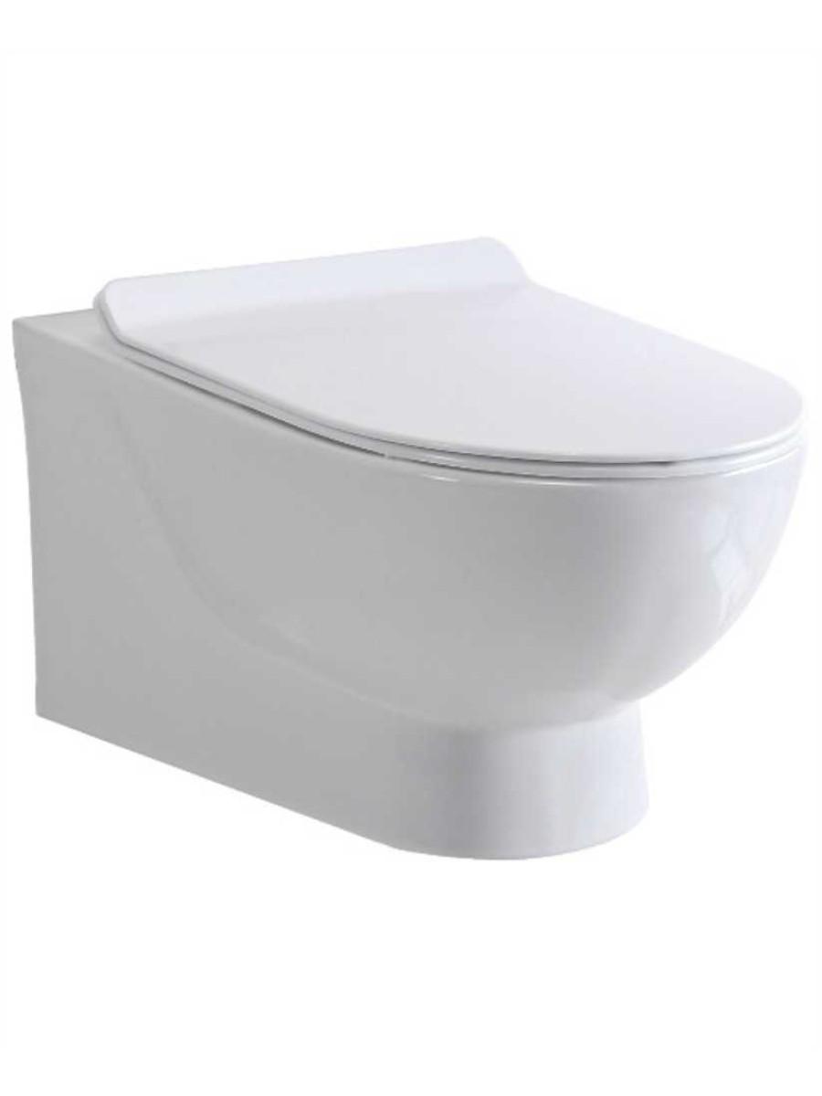 Awe Inspiring Verona Wall Hung Rimless Toilet And Soft Close Seat Uwap Interior Chair Design Uwaporg