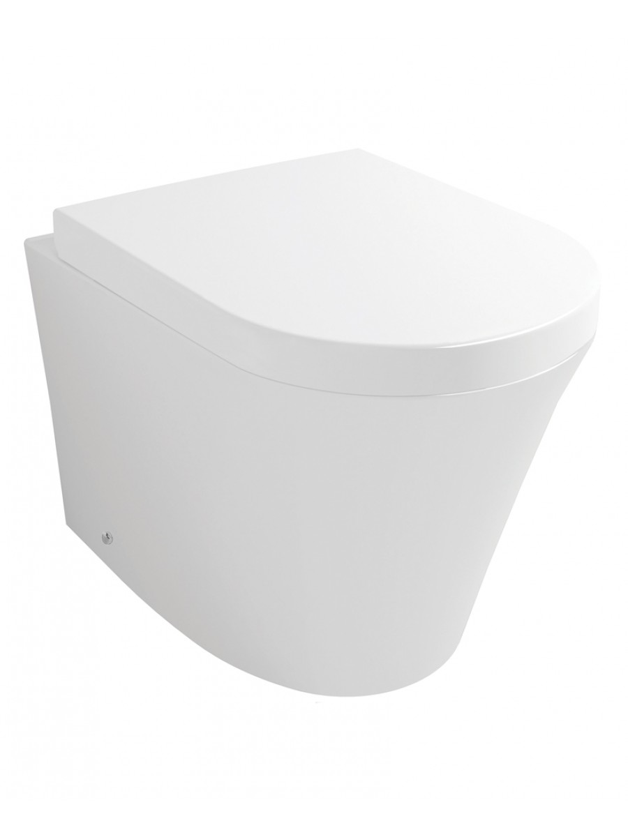 Evoque Back to Wall Toilet & Soft Close Seat