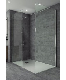 Studio 8mm Wetroom Side Panel 900
