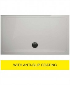 Kristal Surface 25mm 1600x800 Slimline Shower Tray and FREE 90mm Waste - Anti Slip