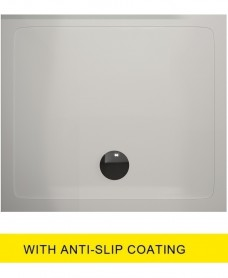Kristal Surface 25mm 800x800 Slimline Shower Tray and FREE 90mm Waste - Anti Slip