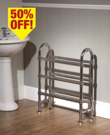 Abbey 770 x 680 Heated Towel Rail - 50% Off While Stocks Last