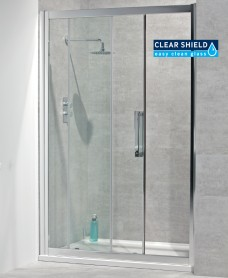 Aktive 8mm 1000 Sliding Shower Door - Adjustment 945-1000mm