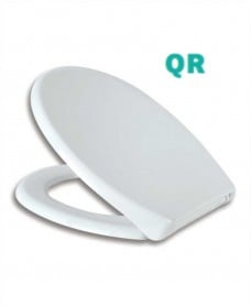 Apollo Toilet Seat with Soft Close Quick Release