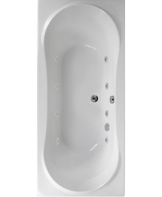 Apollo 1800x800 Double Ended 8 Jet Whirlpool Bath