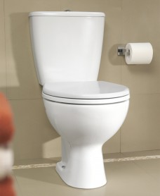 Twyford Alcona Close Coupled Toilet & Seat