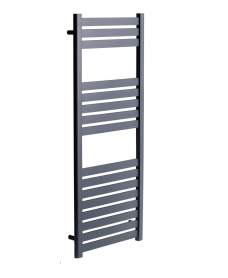 Ashton 1200 x 500 Heated Towel Rail Anthracite