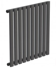 Amura Elliptical Tube Horizontal Designer Radiator 600