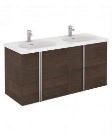 Avila 120 Unit 2 Doors 2 Drawers Sandy Wenge & Idea Basin