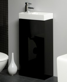 Basle 40cm Black Floor Standing Unit- Basle Saving