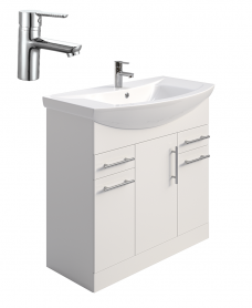 Belmont 85cm Vanity Unit - Special Offer* - includes Nena tap & waste