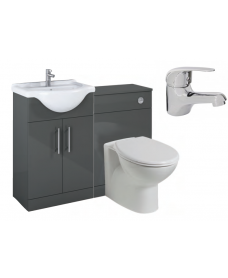Belmont Gloss Grey Vanity Pack-Alpha - *Special Offer