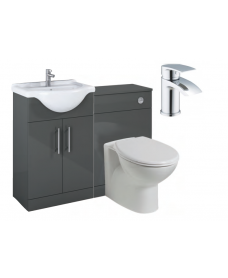 Belmont Gloss Grey Vanity Pack-Corby - *Special Offer