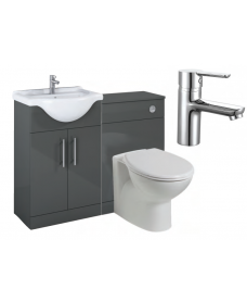 Belmont Gloss Grey Vanity Pack-Nena - *Special Offer