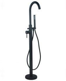 Harrow Black Freestanding Bath Shower Mixer