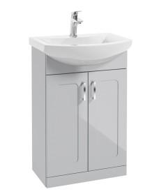 Bristol 55cm  Cool GreyVanity Unit & Basin