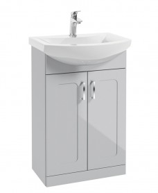 Bristol 55cm Floorstanding unit with Norfolk basin mixer  - *Special Offer