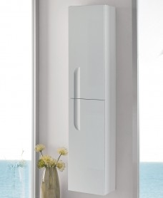 Brava White 30cm Wall Column