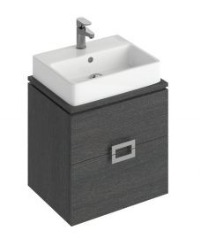 Katie Dark Wood 55 CounterTop Vanity Unit and Brook Basin