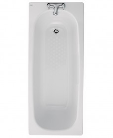 Celtic 1500x700 Steel Bath - 2 Tap Hole