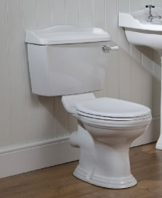 Cambridge Close Coupled Toilet & Standard Seat