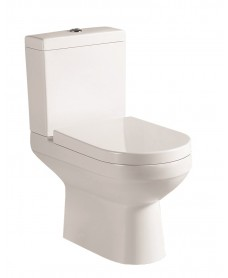 Chloe Close Coupled Toilet and Soft Close Seat