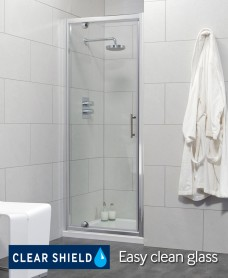 City 900 Pivot Shower Door - Adjustment 840-890mm - Special Offer* - includes Shower Tray and Waste