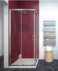 City Plus 900 Corner Entry Shower Door