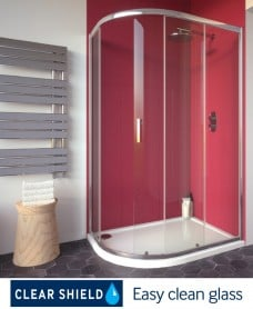 CITY PLUS Offset Quadrant Single Door 1200 x 800 Pack  - *Special Offer