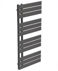 Como 1126 x 550 Heated Towel Rail - Anthracite