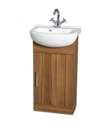 Oslo Walnut 45cm Vanity Unit & Basin