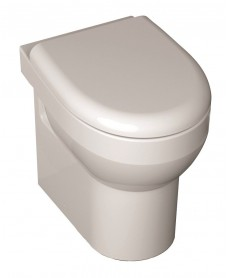 B Plus RIMLESS Back to Wall Toilet and Soft Close Seat