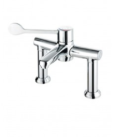 Caremix H3 Thermostatic Sequential Deck Mixer Extended Lever