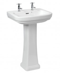 Decor Basin 55cm & Pedestal (2TH)