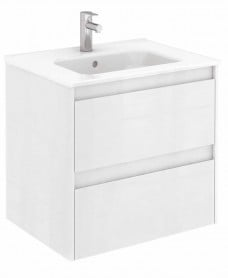 Dijon White 60 Vanity Unit and SLIM Basin