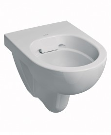Energy E100 round Rimfree® wall hung toilet pan