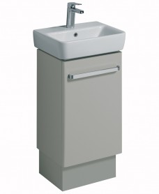E200 450 Grey Vanity Unit Floor Standing