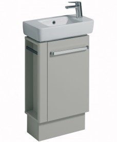 E200 500 Grey Vanity Unit Floor Standing
