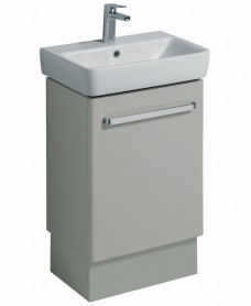 E200 550 Grey Vanity Unit Floor Standing