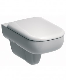 E500 Wall Hung Toilet & Standard Seat