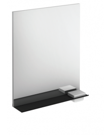 Edge 60cm Mirror & Shelf