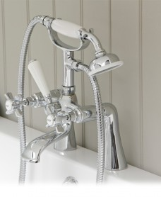 Edwardian Bath Shower Mixer