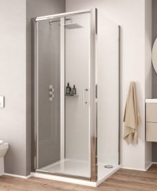 K2 850 Bifold Shower Door - Adjustment 800-860mm