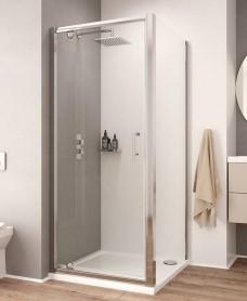 K2 700mm Pivot Shower Door - Adjustment 640-700mm