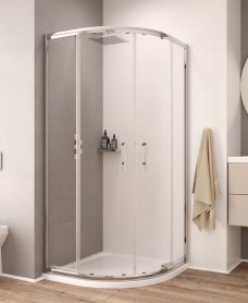 K2 900 Quadrant Shower Enclosure - Adjustment 855mm-880mm